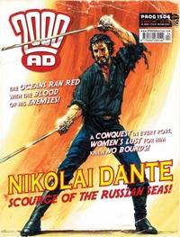 Cover Thumbnail for 2000 AD (Rebellion, 2001 series) #1504