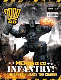 Cover Thumbnail for 2000 AD (Rebellion, 2001 series) #1519