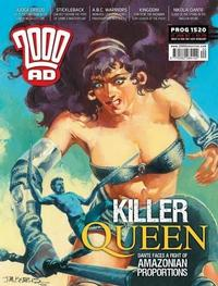 Cover Thumbnail for 2000 AD (Rebellion, 2001 series) #1520