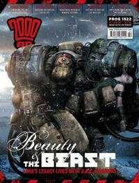 Cover Thumbnail for 2000 AD (Rebellion, 2001 series) #1522