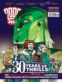 Cover Thumbnail for 2000 AD (Rebellion, 2001 series) #1526