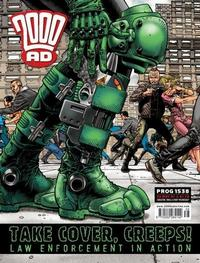 Cover Thumbnail for 2000 AD (Rebellion, 2001 series) #1538