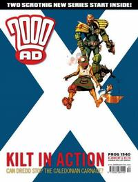 Cover Thumbnail for 2000 AD (Rebellion, 2001 series) #1540