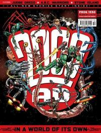 Cover Thumbnail for 2000 AD (Rebellion, 2001 series) #1550