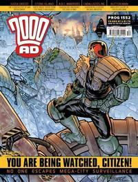 Cover Thumbnail for 2000 AD (Rebellion, 2001 series) #1552