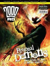 Cover Thumbnail for 2000 AD (Rebellion, 2001 series) #1554