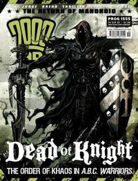 Cover Thumbnail for 2000 AD (Rebellion, 2001 series) #1555