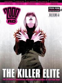 Cover Thumbnail for 2000 AD (Rebellion, 2001 series) #1556