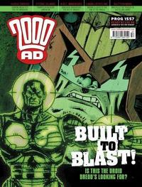 Cover Thumbnail for 2000 AD (Rebellion, 2001 series) #1557