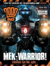 Cover Thumbnail for 2000 AD (Rebellion, 2001 series) #1559