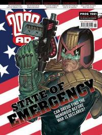Cover Thumbnail for 2000 AD (Rebellion, 2001 series) #1561