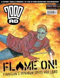 Cover Thumbnail for 2000 AD (Rebellion, 2001 series) #1563