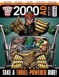 Cover Thumbnail for 2000 AD (Rebellion, 2001 series) #1576