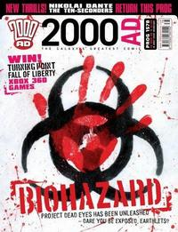 Cover Thumbnail for 2000 AD (Rebellion, 2001 series) #1578