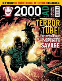 Cover Thumbnail for 2000 AD (Rebellion, 2001 series) #1581