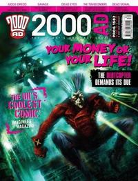 Cover Thumbnail for 2000 AD (Rebellion, 2001 series) #1582