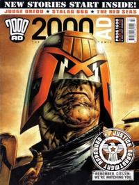 Cover Thumbnail for 2000 AD (Rebellion, 2001 series) #1600