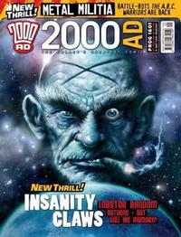Cover Thumbnail for 2000 AD (Rebellion, 2001 series) #1601