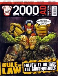 Cover Thumbnail for 2000 AD (Rebellion, 2001 series) #1607