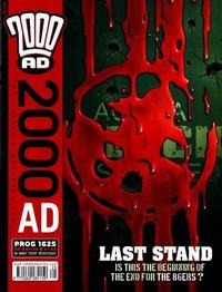 Cover Thumbnail for 2000 AD (Rebellion, 2001 series) #1625
