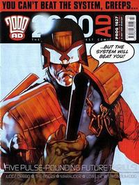 Cover Thumbnail for 2000 AD (Rebellion, 2001 series) #1627