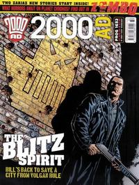 Cover Thumbnail for 2000 AD (Rebellion, 2001 series) #1632