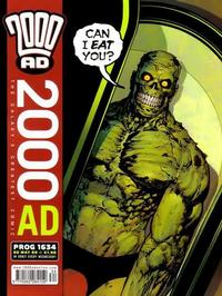 Cover Thumbnail for 2000 AD (Rebellion, 2001 series) #1634