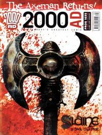 Cover Thumbnail for 2000 AD (Rebellion, 2001 series) #1635