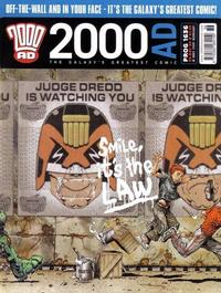 Cover Thumbnail for 2000 AD (Rebellion, 2001 series) #1636