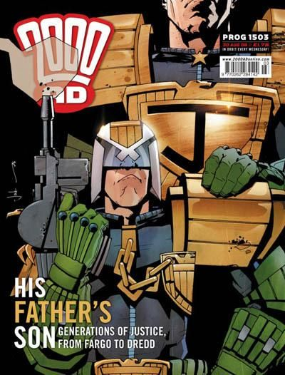 Cover for 2000 AD (Rebellion, 2001 series) #1503
