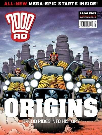 Cover for 2000 AD (Rebellion, 2001 series) #1505