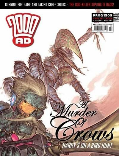 Cover for 2000 AD (Rebellion, 2001 series) #1509
