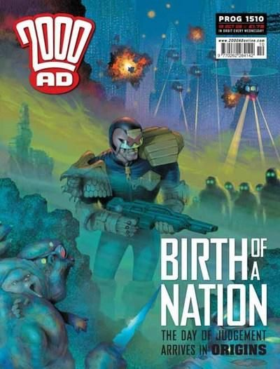 Cover for 2000 AD (Rebellion, 2001 series) #1510