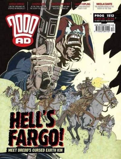 Cover for 2000 AD (Rebellion, 2001 series) #1512