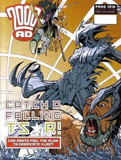 Cover for 2000 AD (Rebellion, 2001 series) #1516