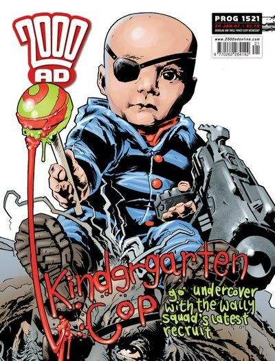 Cover for 2000 AD (Rebellion, 2001 series) #1521