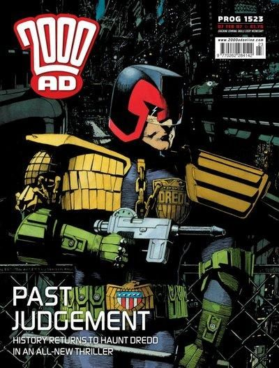 Cover for 2000 AD (Rebellion, 2001 series) #1523
