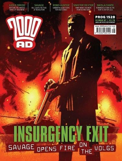 Cover for 2000 AD (Rebellion, 2001 series) #1528