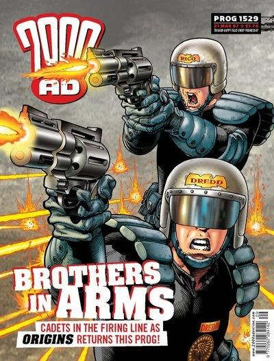Cover for 2000 AD (Rebellion, 2001 series) #1529