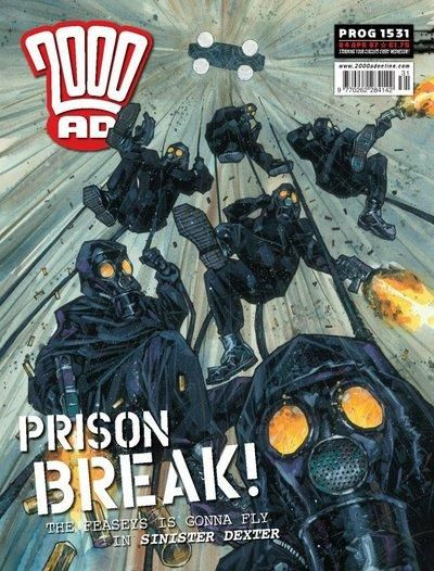 Cover for 2000 AD (Rebellion, 2001 series) #1531