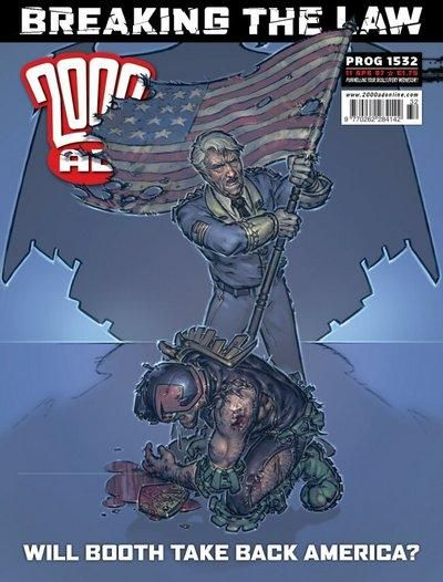 Cover for 2000 AD (Rebellion, 2001 series) #1532