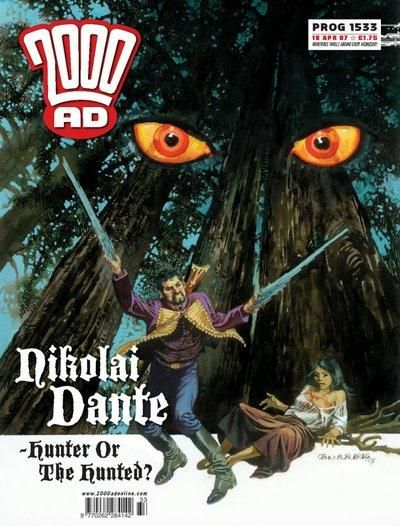 Cover for 2000 AD (Rebellion, 2001 series) #1533