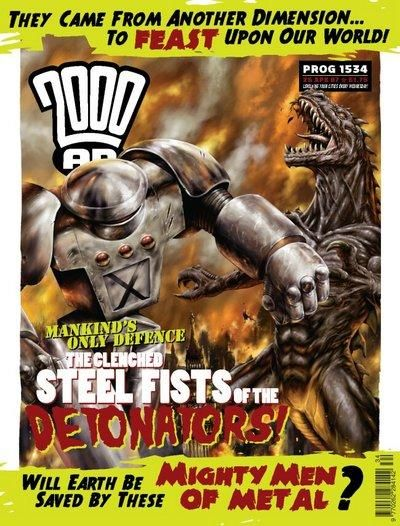 Cover for 2000 AD (Rebellion, 2001 series) #1534