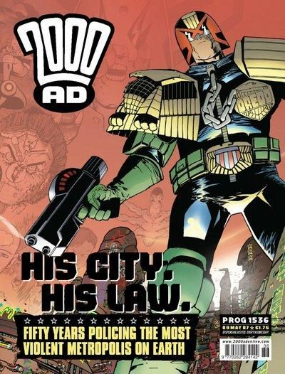 Cover for 2000 AD (Rebellion, 2001 series) #1536
