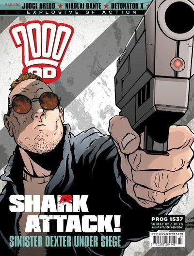 Cover for 2000 AD (Rebellion, 2001 series) #1537