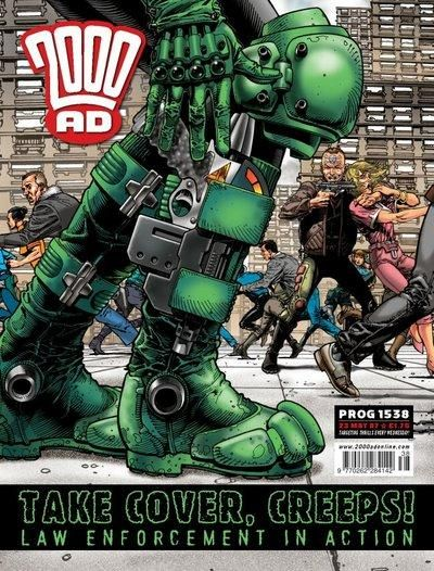 Cover for 2000 AD (Rebellion, 2001 series) #1538