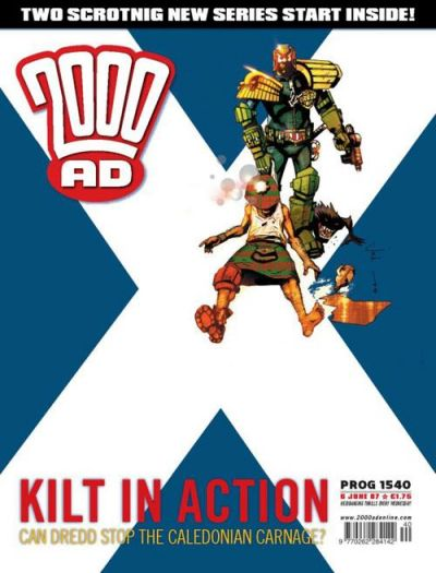 Cover for 2000 AD (Rebellion, 2001 series) #1540