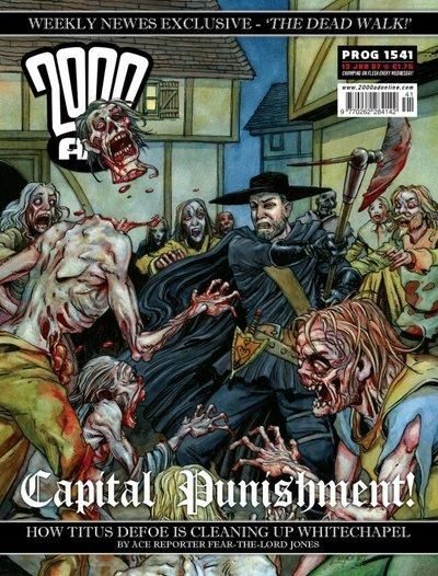 Cover for 2000 AD (Rebellion, 2001 series) #1541