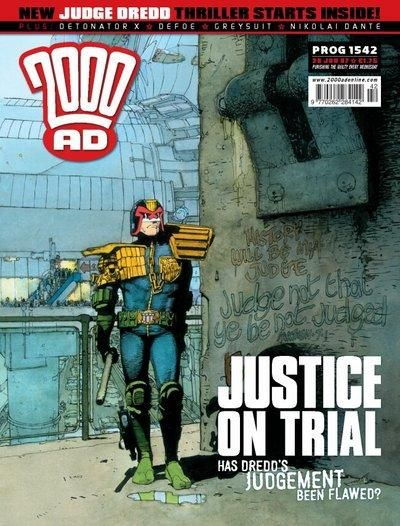 Cover for 2000 AD (Rebellion, 2001 series) #1542