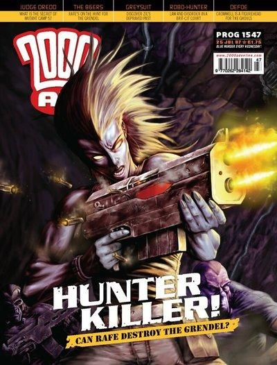 Cover for 2000 AD (Rebellion, 2001 series) #1547